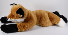 large stuffed fox