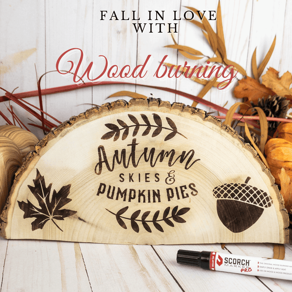 5 Fun Fall wood-burning ideas and patterns!