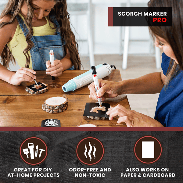 3 MUST KNOW Tips for Using Wood Burning Stencils with Your Scorch Marker