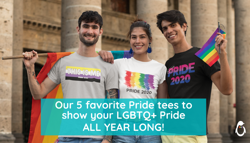 Our 5 Favorite Tees to Show Off Your LGBTQ Pride Year Round