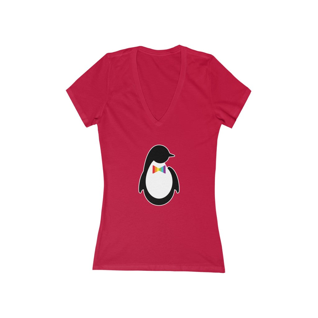 Dash of Pride Penguin V-Neck Tee