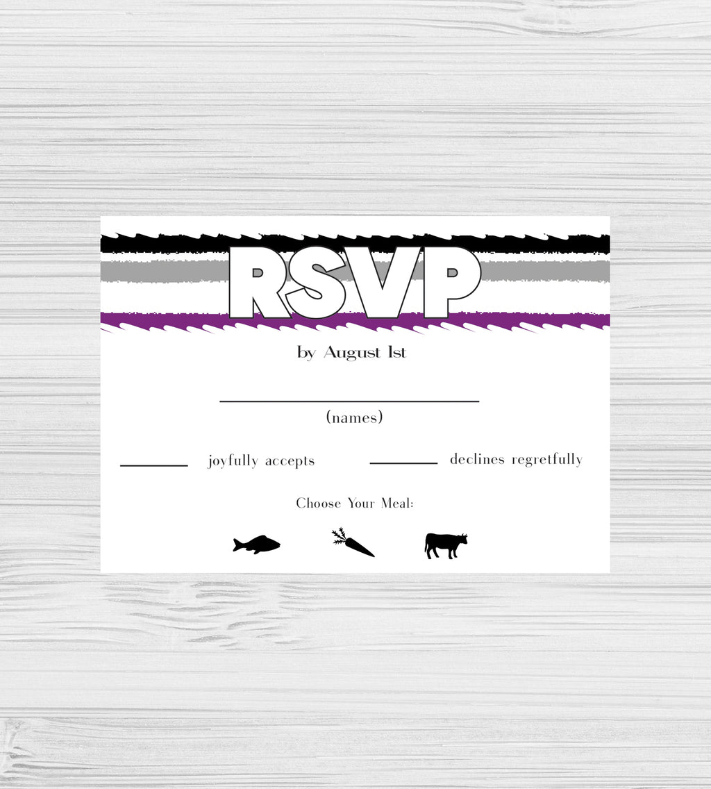 NEW -  Asexual Tear RSVP