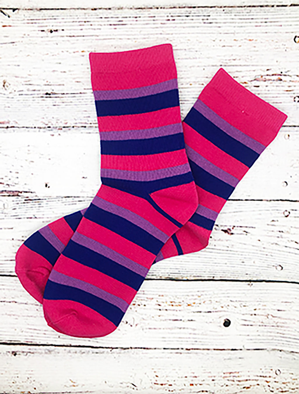 BiSexual Pride Flag Striped Socks