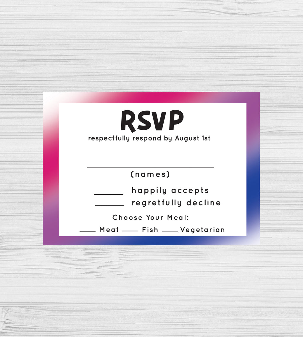 NEW -  Bisexual RSVP