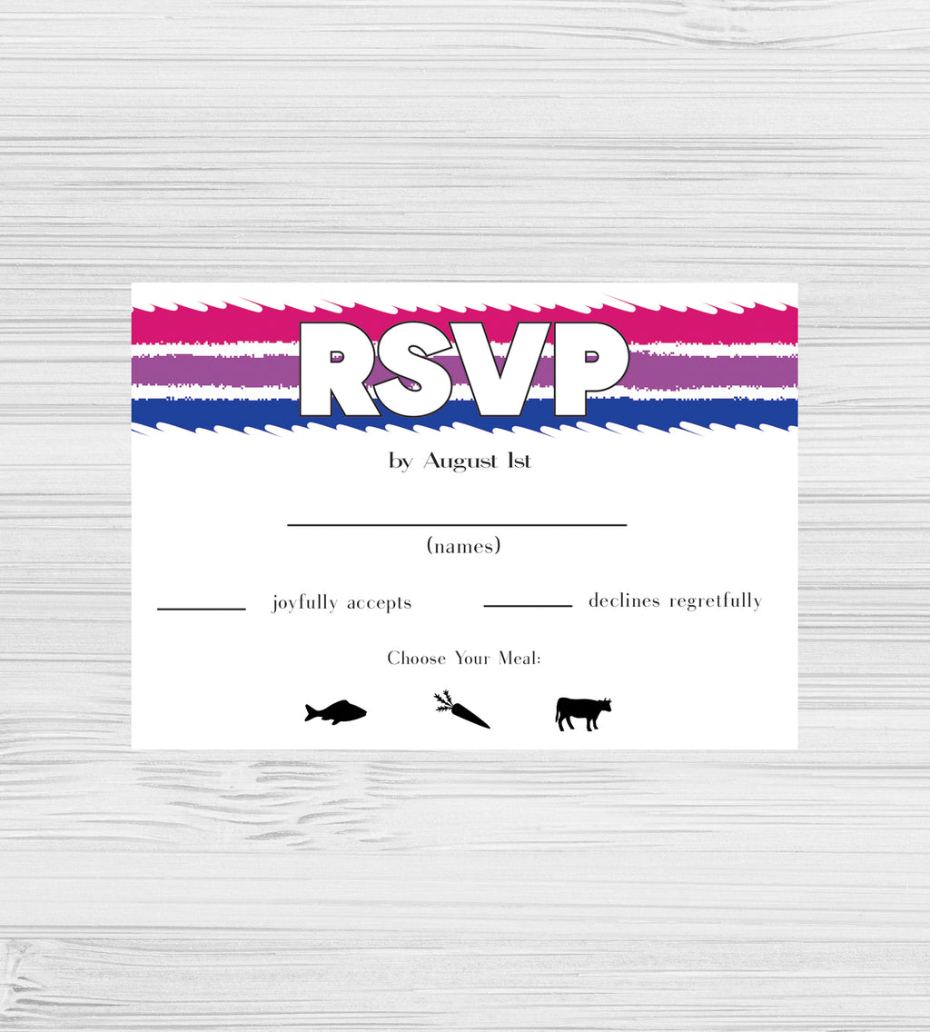 NEW -  Bisexual Tear RSVP