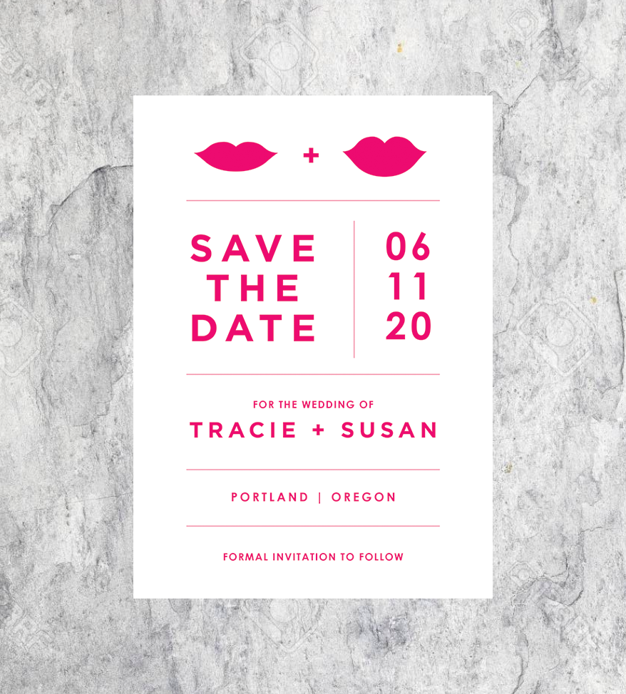 Hot Lips Save the Dates