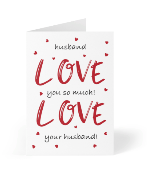 Valentine's Day - Husband Love You