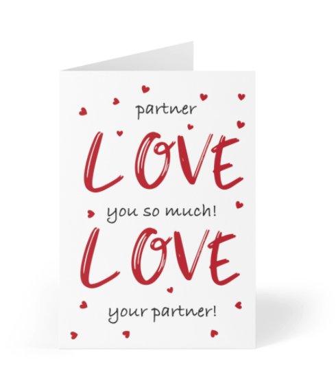 Valentine's Day - Partner Love You