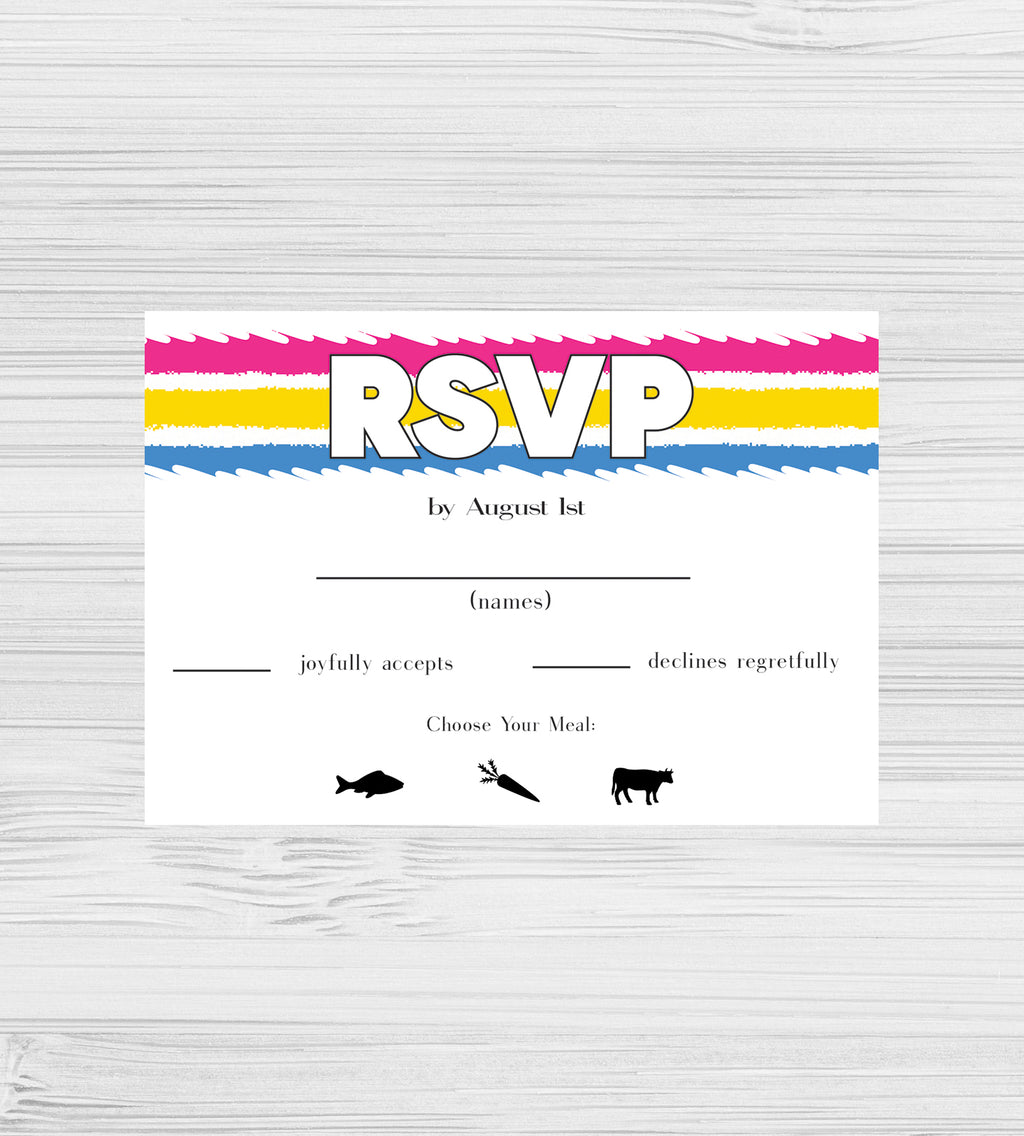 NEW -  Pansexual Tear RSVP