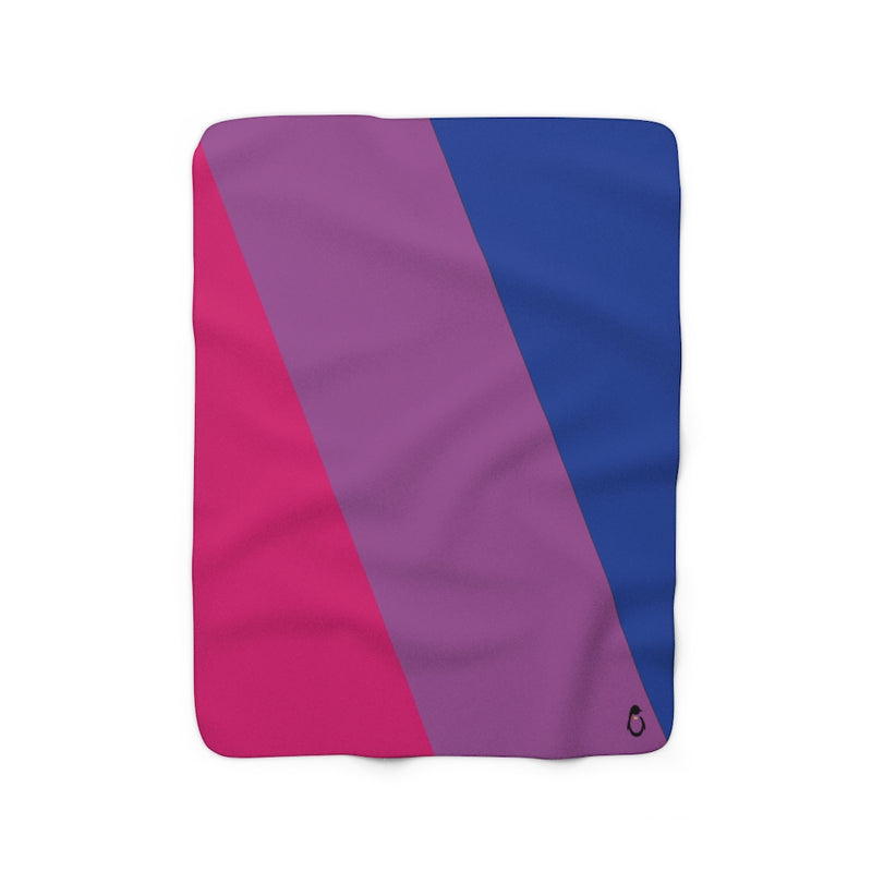 Bisexual Sherpa Fleece Blanket