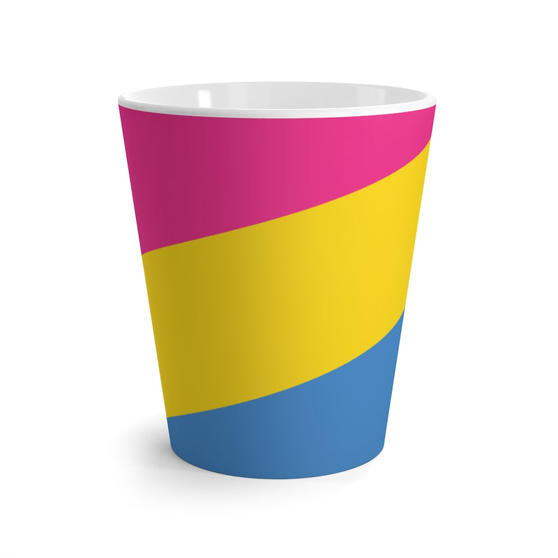 Pan-Sexual Pride Flag Coffee Mug - Side View