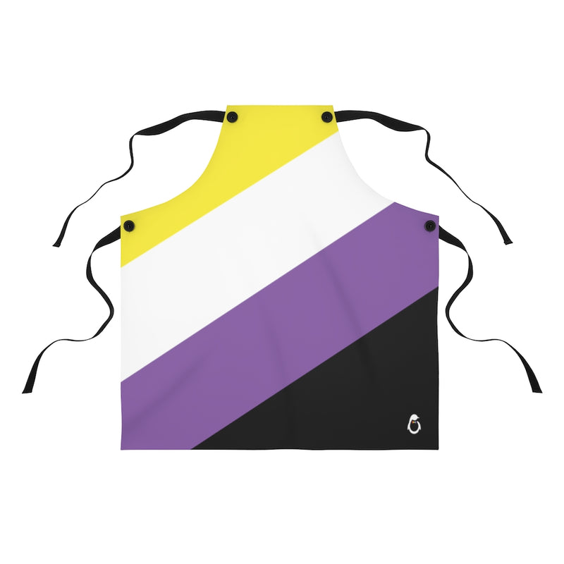Non-Binary Pride Flag - Laying flat on surface