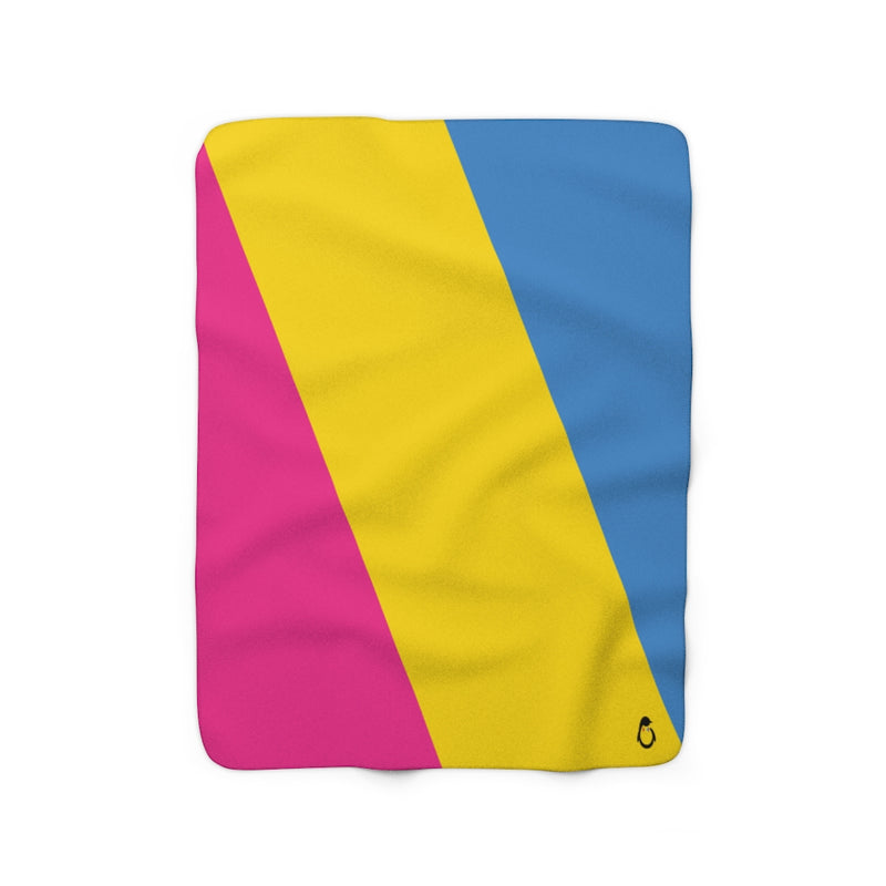 Pansexual Sherpa Fleece Blanket