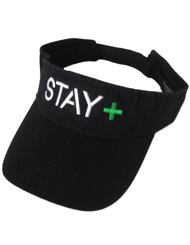 Lymphoma Awareness Visor (Black)