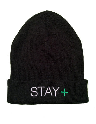 Lymphoma Awareness Flip-Up Beanie (Black)