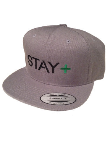 Lymphoma Awareness Snap-Back (Gray)