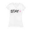 Women's Stay Positive V-Neck