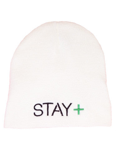 Lymphoma Awareness Beanie (White)