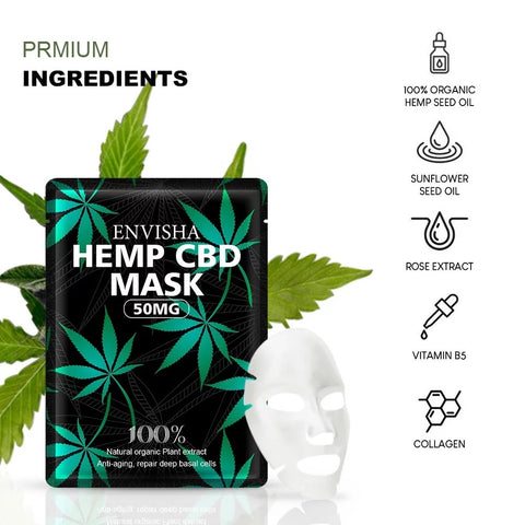 Envisha Hemp CBD Mask