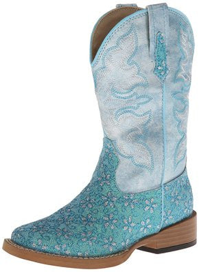 Roper Infant Boots Square Toe Glitter (17901027)