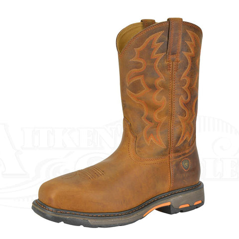 Ariat® Mens 'Workhog' Western Steel Toe (10016568)