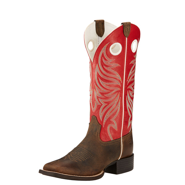 *Ariat® Womens 'Round Up Ryder' Square Toe (10017389)