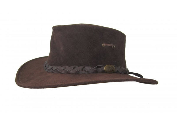 Jacaru 'Nomad' Kangaroo Leather Hat (1124)