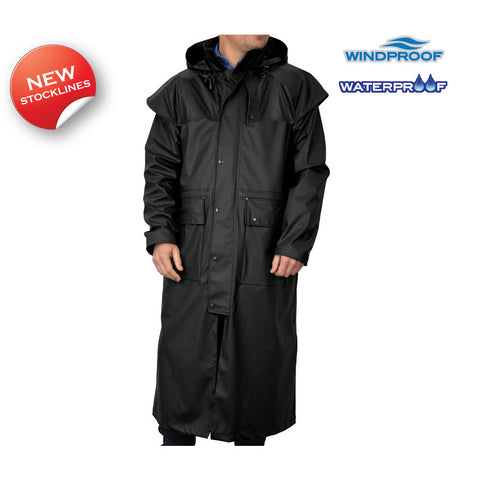 Thomas Cook Adults Unisex Pioneer Long Raincoat (TCP1711041)