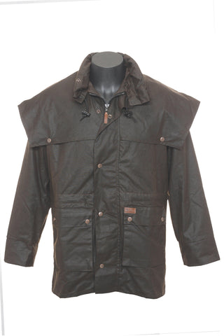 Outback Trading 'Swagman' Oilskin Jacket (2100)