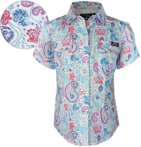 *Thomas Cook Pure Western Girls Sia Print S/S Shirt (P6S5101051)