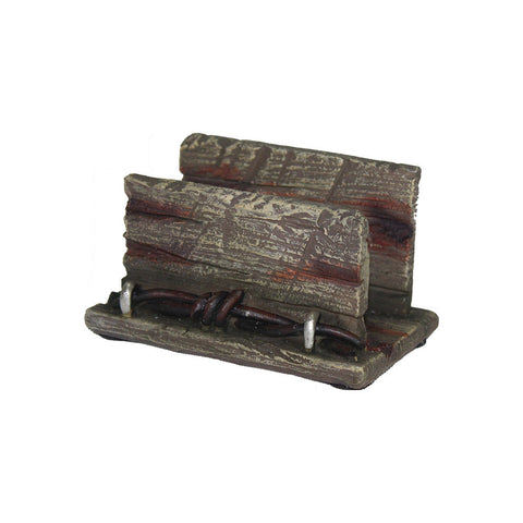 Thomas Cook Pure Western Barbwire Wooden Look Business Card Holder (PCP1907GFT)