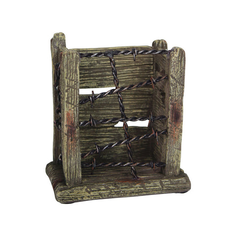 Thomas Cook Pure Western Barbwire Wooden Look Open Pen Holder (PCP1911GFT)