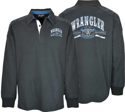 Wrangler Mens 'Curtis' Rugby (X7W1556001)