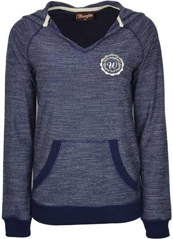 Wrangler Womens 'Addison' Hooded L/S Top (X7W2574039)