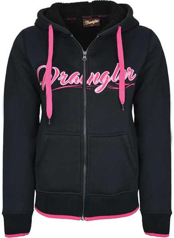 Wrangler Womens 'Rainie' Zip Up Hoodie (X7W2771050)