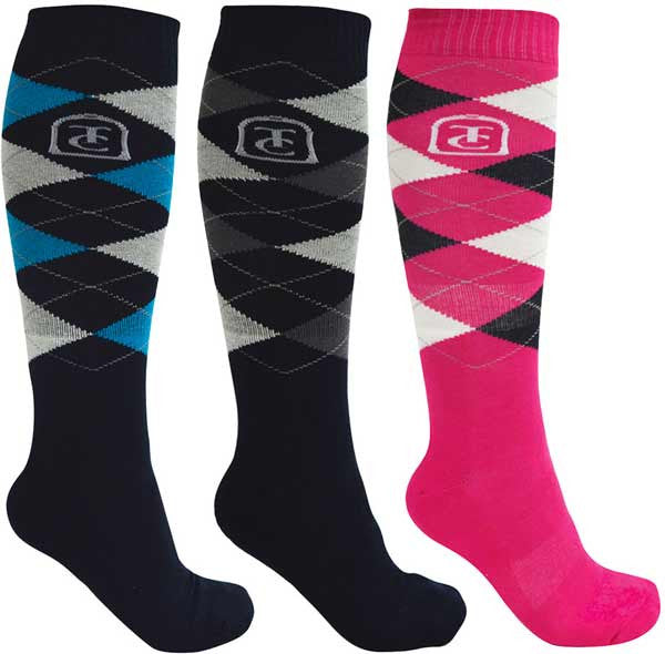 Thomas Cook Equestrian Womens Riding Socks – 3 Pack (E7W2901SOC)
