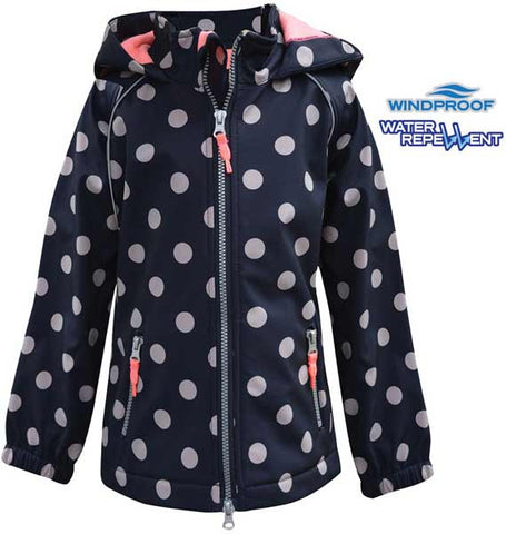 *Thomas Cook Equestrian Girls 'Elvy' Soft Shell Jacket (E7W5701025)