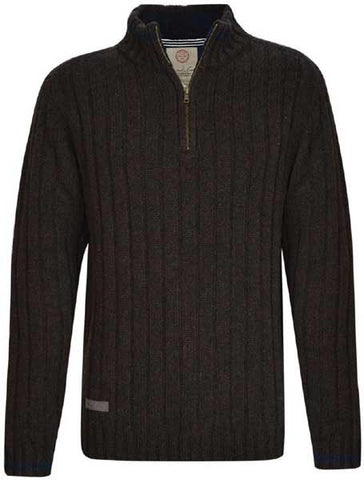 Thomas Cook Mens 'Adrian' 1/4 Zip Neck Knit Jumper (T7W1519090)