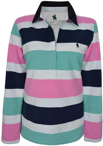 Thomas Cook Womens 'Donna' Stripe Rugby (T7W2521029)