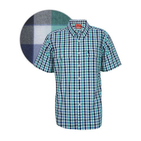 Thomas Cook Mens 'Mulgowie' Check S/S Shirt (T7S1110012)