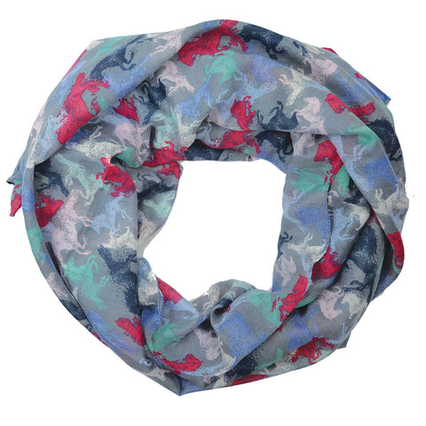 Thomas Cook Womens Voile Print Scarf (T7S2900SCF)