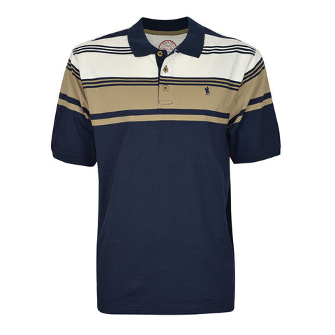 Thomas Cook Mens 'Colac' Stripe S/S Polo (T7S1504019)