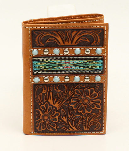 Ariat® Ribbonstrap Trifold Wallet (A3529708)