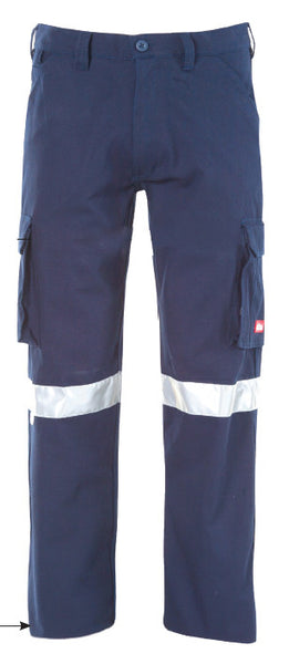 Jonsson J-Max Canvas Cargo Trousers with Reflective Tape (I2004)