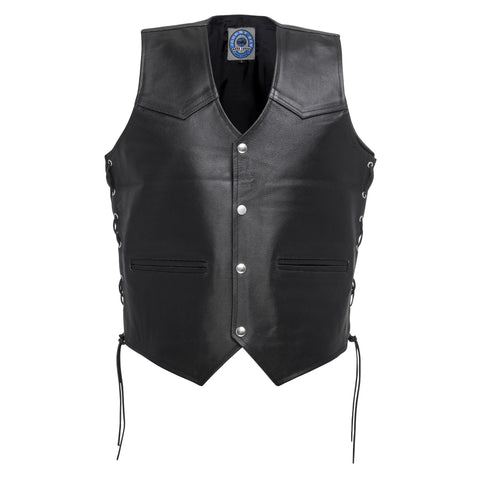 Johnny Reb 'Tasman' Leather Vest (JRV10002)