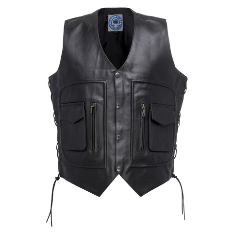 Johnny Reb 'Kangaroo Valley' Leather Vest (JRV10003)