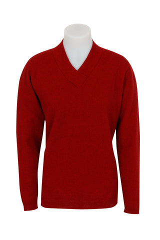 *MKM Womens Crossover V Neck Sweater (MB3090)