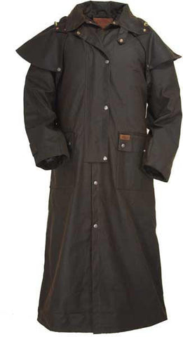 Outback Trading Full Length Oilskin Duster (formerly the 'Tamworth') (2052)