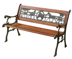 Cast Iron / Wood Benches (PBDP)