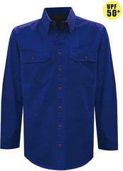 Thomas Cook Unisex Light Drill 2-Pocket L/S Shirt (Open Front)  (TCP1125005)